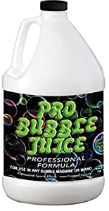 Froggys Fog - Pro Bubble Juice - Professional Bubble Fluid for All Bubble Machines and Bubblers - 1 Gallon
