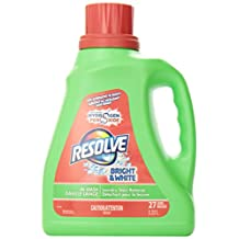 Resolve, Laundry Stain Remover, Bright & White, Safe Alternative to Bleach, In-Wash Liquid, All Colours, 2.22 L