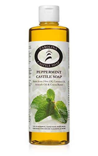 Peppermint Castile Soap (16 oz) (Wholesale Castile Soap)