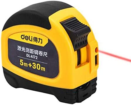 5m Handheld Digital Distance Meter Laser Tape Measure Range Finder 30m