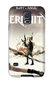 Galaxy S5 Case Cover With Shock Absorbent Protective QCHwCTg4352mAjKl Case