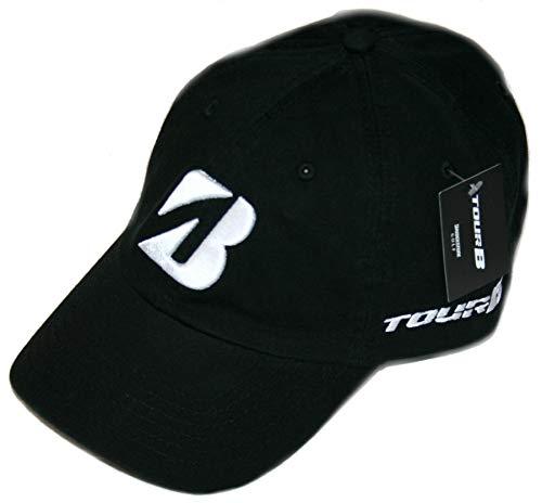 Bridgestone Golf 2019 Tour B Relax Cap Hat, Adjustable Closure, Black