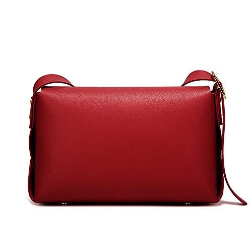 poliuretano al Rojo para de Bolso Widewing mujer hombro Vino zZCqvxwy