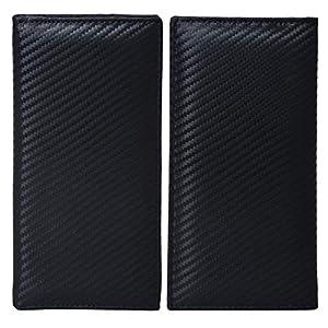Leather Checkbook Cover Holder for Women – Standard Register Duplicate Checks RFID