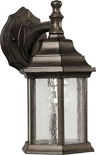 - Forte Lighting 1725-01-18 1 Light Cast Al Outdoor Lantern in Olde Bronze,