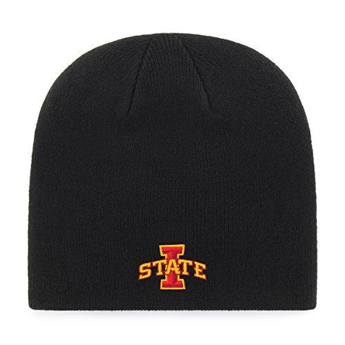 Iowa Cyclones Nfl State (OTS NCAA Iowa State Cyclones Beanie Knit Cap, Black, One Size)
