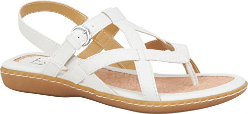 Mujeres Boc, Averie Thong Sandal White