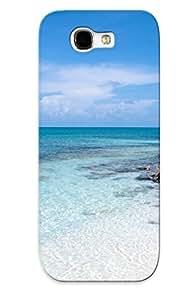 Galaxy Note 2 Case Cover Half Moon Bay, California Case - Eco-friendly Packaging