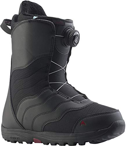 Burton Mint BOA Snowboard Boots Womens Sz 8 Black ()