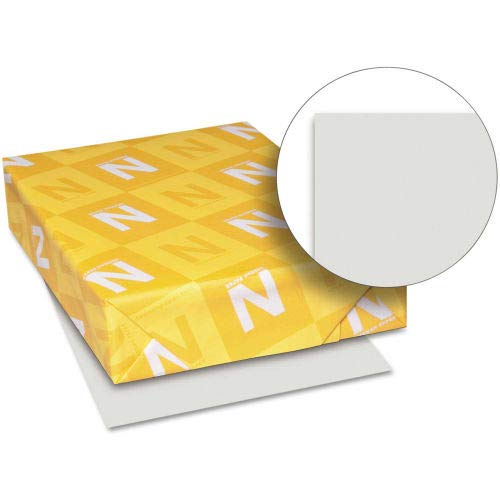 Neenah Paper Exact Index Card Stock 49591, 110 lbs, 8-1/2'' x 11'', Gray, 250/Pack