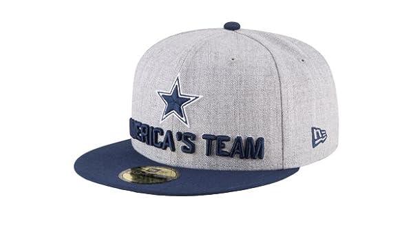 Amazon.com   Dallas Cowboys New Era 2018 Draft Mens 59Fifty Cap   Sports    Outdoors af5620c1d