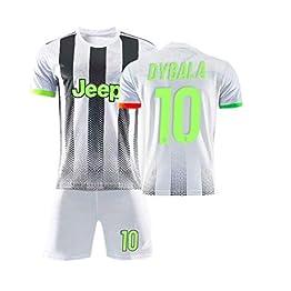 TT377 Maillot Juventus Palace Vert Fluorescent Édition Spéciale Ronaldo Dybala Uniforme De Football pour Enfants Adultes