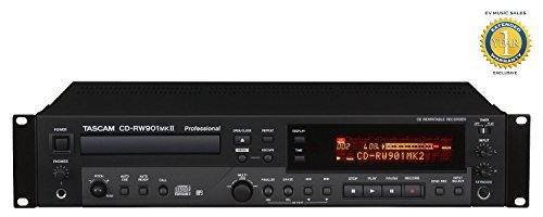 Tascam CD-RW901mkII CD Player/Recorder with 1 Year Free Extended Warranty ()