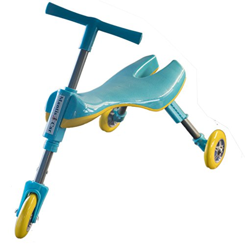 Mr Bigz Foldable Indoor/Outdoor Toddlers Glide Tricycle - No Assembly Required (Blue) by Mr Bigz (Image #4)