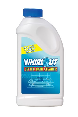 Whirlout WO06N Jetted Bath Cleaner 22oz (1.375 lbs.) Self Cleaning Action Formulated to Clean Hot Tubs, Spas, Whirlpools & Jetted Bathtubs