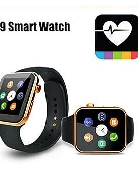 VERNESS inteligente SmartWatch a9 reloj por teléfono android ...