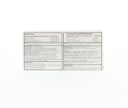 Cuadriderma First Aid Antibiotic - Antibiotico De Primeros Auxilios 28.35 g (Pack of 1)