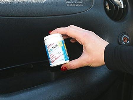 PMS - Pastillas limpiaparabrisas, anticongelante, ecológicas y biodegradables, caja de 12 pastillas: Amazon.es: Coche y moto