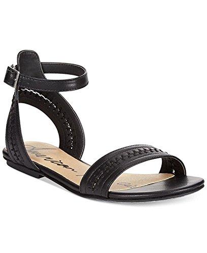 femme pour Sandales Rag American Noir tAT6w