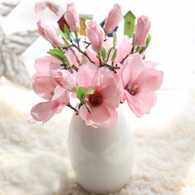 Amazon.com: Emulation flower flowers packaged home living room vases ...