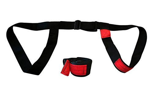 168cm Snowboard (Bowtie Snowboard Carrier / Sling Fits Snowboards 168cm Wide and Shorter)