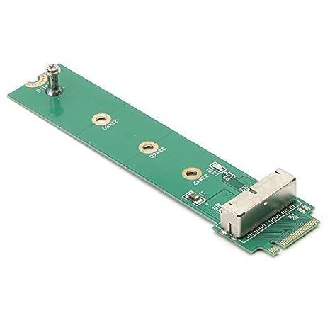 PCIe SSD a M.2 NGFF M Tarjeta Adaptador de Llave para 2013 2014 ...