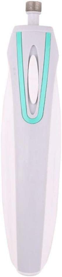 HXCYE Tijeras de uñas para Mascotas Clavo de la Amoladora eléctrica de la Pata del Condensador de Ajuste automáticos pulidor del Clavo de luz LED