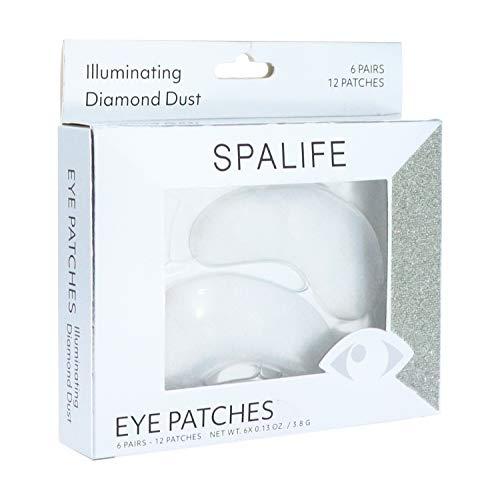 SpaLife Anti-Aging Under Eye Treatments - 6 Treatments (Diamond W/Collagen)