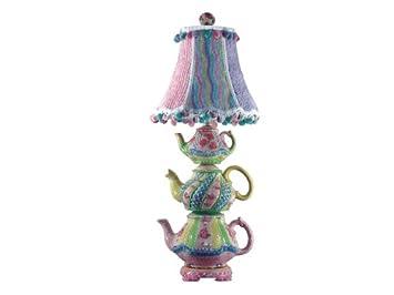 Triple Stacked Teapot Lamp