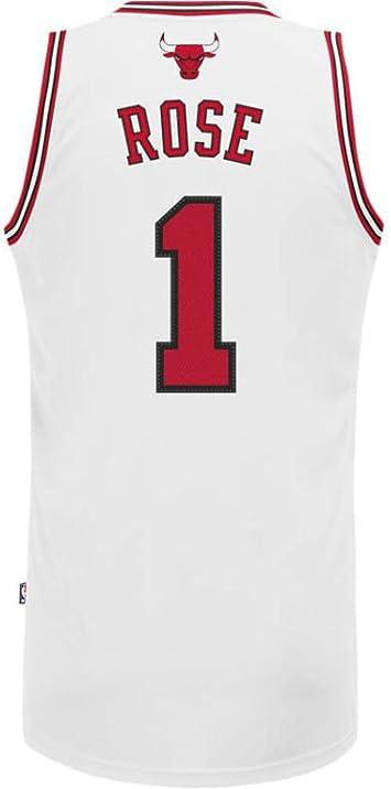 Adidas - Camiseta de baloncesto de Derrick Rose de los Chicago Bulls de la NBA Talla:xx-large: Amazon.es: Deportes y aire libre