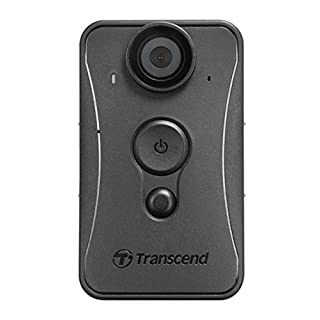 Transcend TS32GDPB20A Body Security Camera, Black