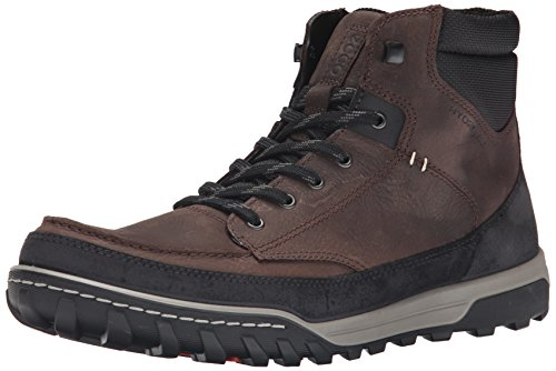 Ecco Mens Urban Livsstil High Fashion Sneaker Kaffe