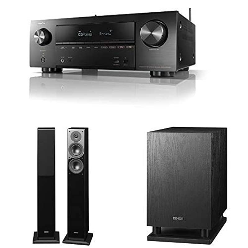 DENON AV서라운드 리시버 7.2ch Dolby Atmos Height Virtualizer /블랙 AVRX1600HK