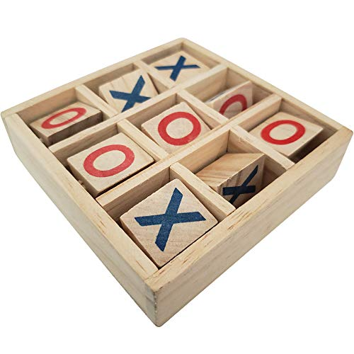 (Gamie Wooden Tic-Tac-Toe Game | 4.75