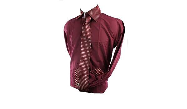 Gorgeous - Corbata - para Hombre Granate: Amazon.es: Ropa y accesorios