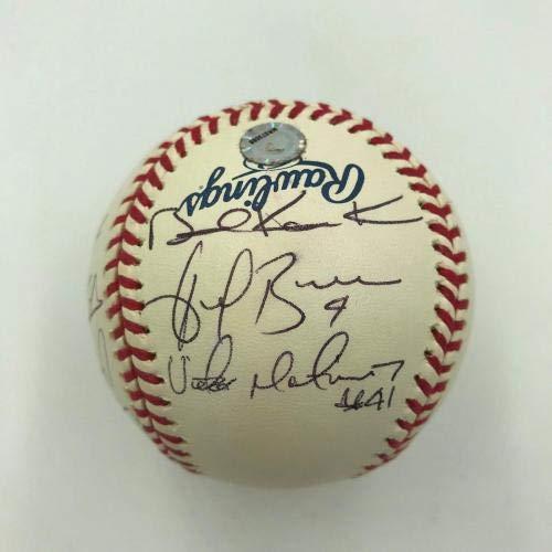 Wholesale Lots Baseball-mlb Justin Morneau Autographed Signed 2006 Al Mvp Baseball Ball Twins Jsa Coa Pretty And Colorful