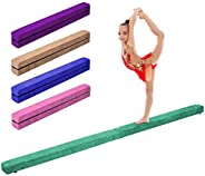 Giantex Sectional Gymnastics Floor Balance Beam Skill Performance Training Folding