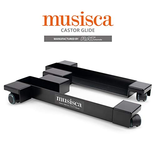 Digital Piano Dolly - Musisca CASTOR-GLIDE Digital Piano Castors