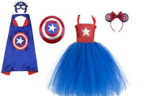 Chunks of Charm Captain of America Costume