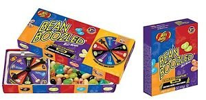 Jelly Belly Bean Boozled Jelly Beans 3.5 oz with Spinner Wheel Game, with Bonus Refill Box