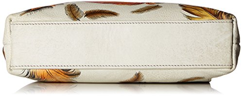 AnUSCHKA Bagaglio a mano, Floating Feathers Ivory (multicolore) - 447-FFT-I