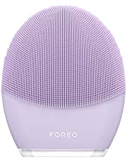 FOREO LUNA 3 for Sensitive Skin, Smart Facial Cleansing and Firming Massage Brush for Spa at Home