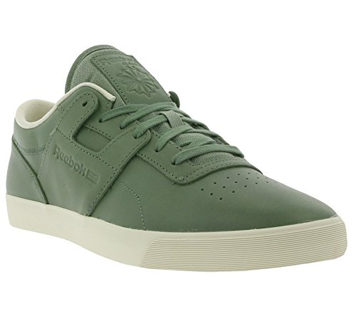 Reebok Classic Workout Low Clean FVS Lux Zapatilla de Deporte Verde M49377, Size:38.5: Amazon.es: Zapatos y complementos