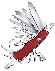 Victorinox Scyzoryk Work Champ XL (31 funkcji, blokada ostrza, piła do drewna, szczypce kombi, przecinak do drutu) czerwony