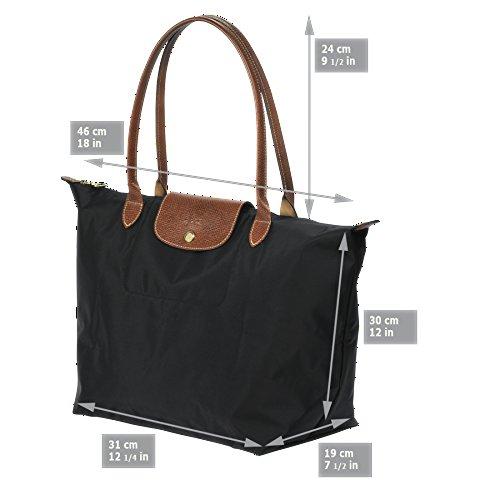 Cabas pour femme Longchamp noir noir aqwxz