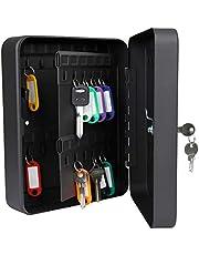 Pawfly 48 Key Cabinet Steel Security Key Organizer Lock Box