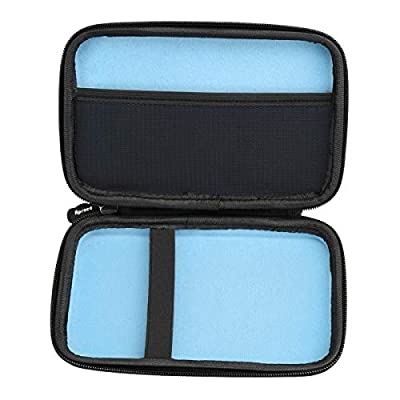 Aproca Hard Storage Travel Case Bag Fit VTech KidiBuzz / VTech KidiBuzz G2 Kids' Electronics Smart Device (Black - Inner Blue): Toys & Games