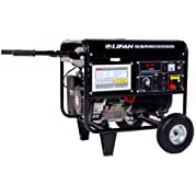 Lifan Pro Series WeldPro AXQ1-200a, 4000 Running Watts/4500 Starting Watts, Gas Powered Portable Generator, with...