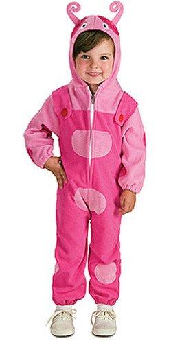 Rubies Backyardigans Deluxe Costume, Uniqua, Toddler (Deluxe Uniqua Child Costume)