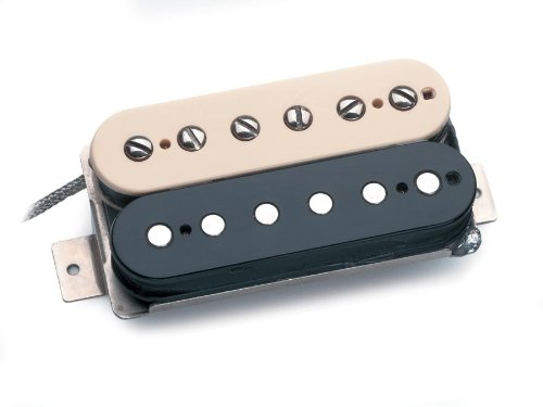 (Seymour Duncan APH-2n Alnico II Pro Slash Humbucker Electric Guitar Neck Pickup Zebra)